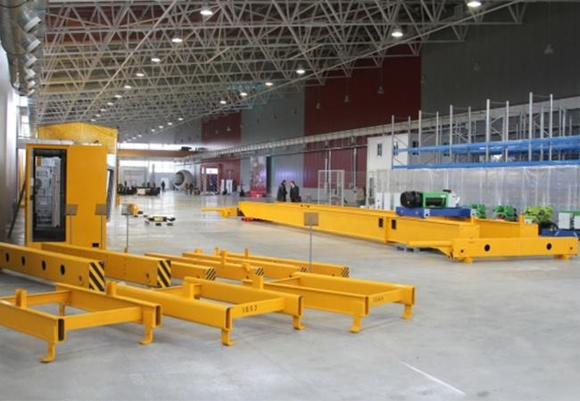 Крановый завод, производство грузоподъемного оборудования, завод Роскран, Роскран, мостовой кран