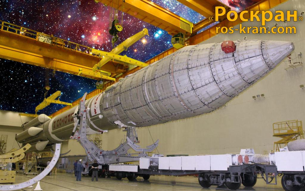 Мостовой кран, космос, ракета, завод, день космонавтики